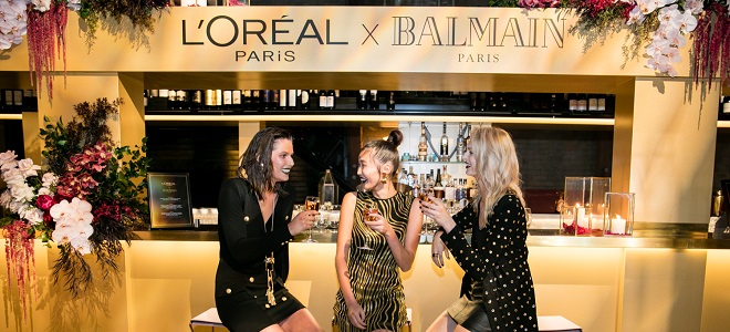 L'Oreal Paris X Balmain Launch Event