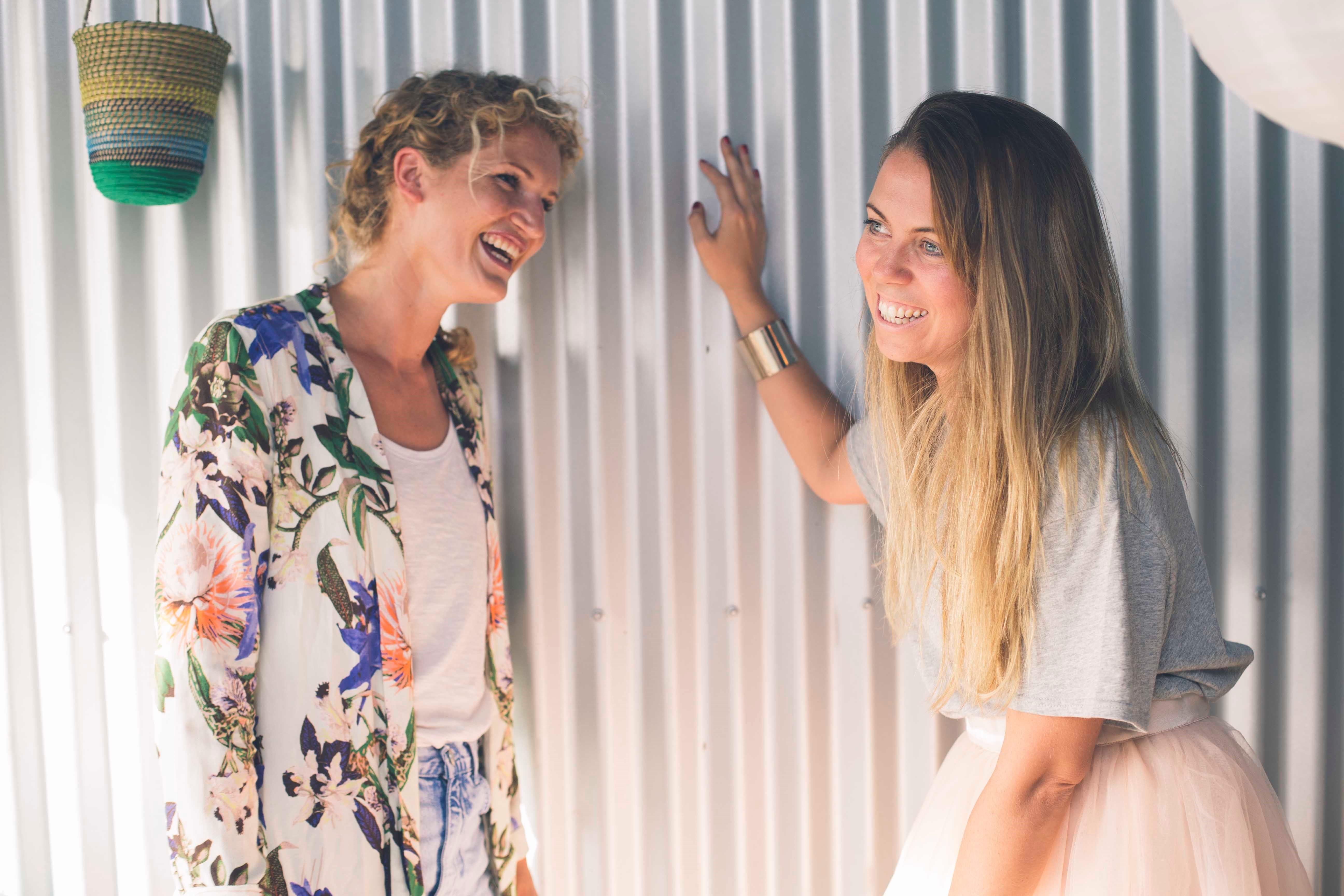 Katie Smee & Georgina Van Hee